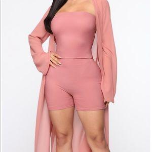 Fashion Nova Romper Set